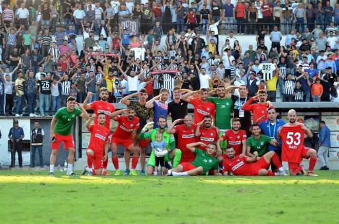 Nazilli Belediyespor, sahasında Diyarbekirspor'u 3-1 yendi