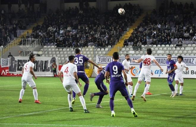 Afjet Afyonspor, Başkent Akademi FK'yı 2-0 mağlup etti