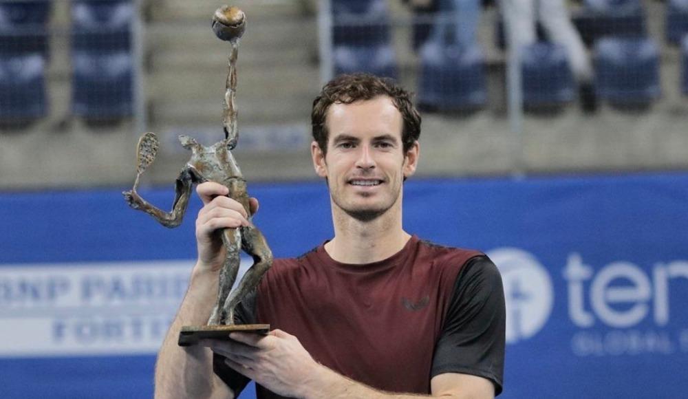 Andy Murray yaklaşık 2,5 yıl sonra şampiyon!