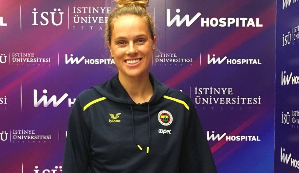Fenerbahçe Opet'te Kelsey Robinson sağlık kontrolünden geçti