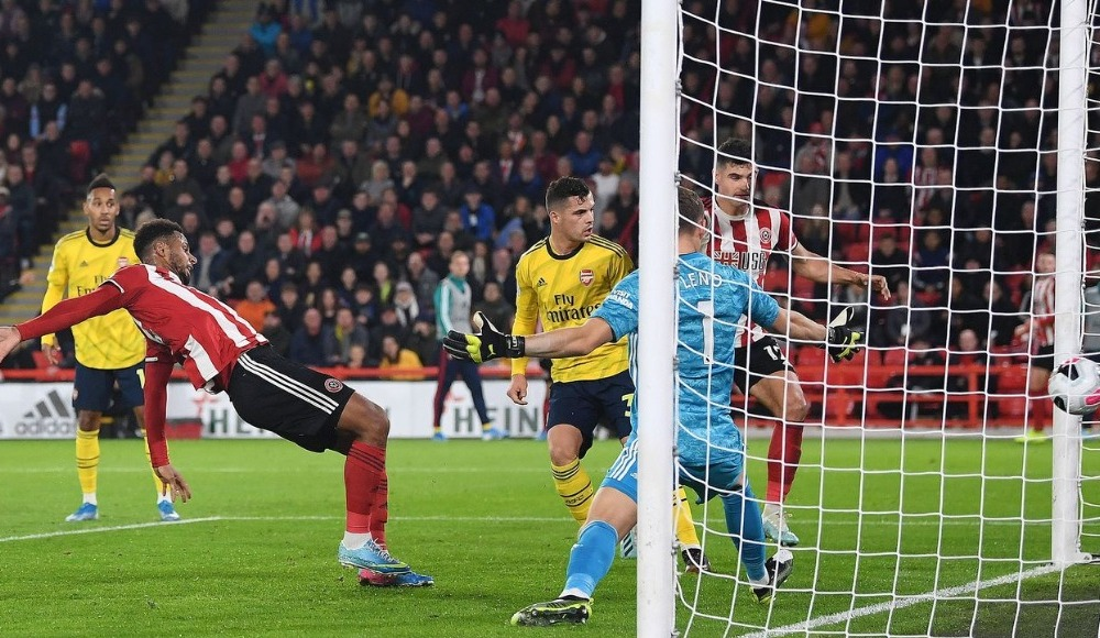 Sheffield United, Arsenal'i tek golle yıktı!