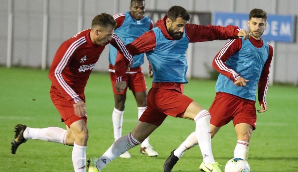 Sivasspor'da Antalyaspor mesaisi başladı