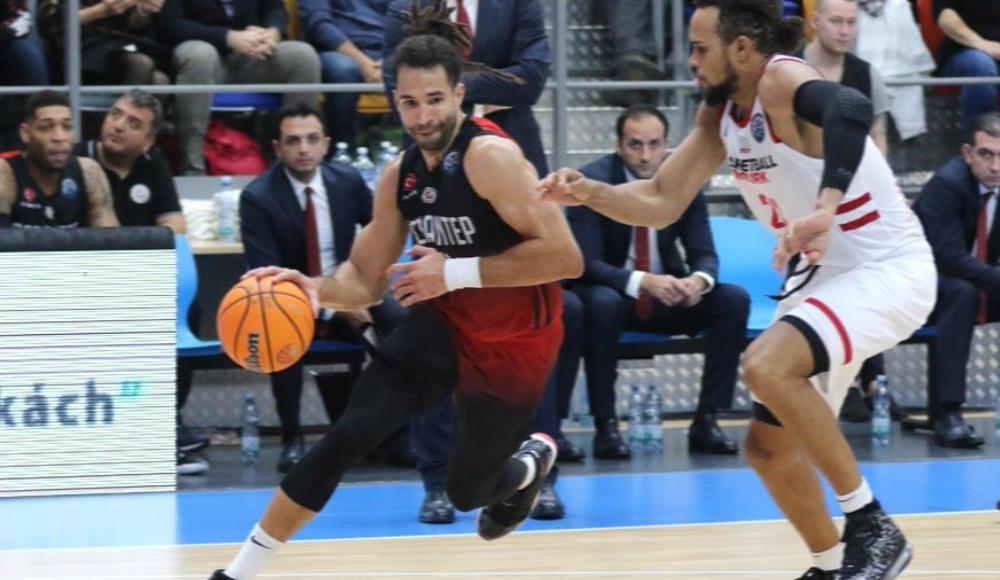 Gaziantep Basketbol, deplasmanda Nymburk'a kaybetti