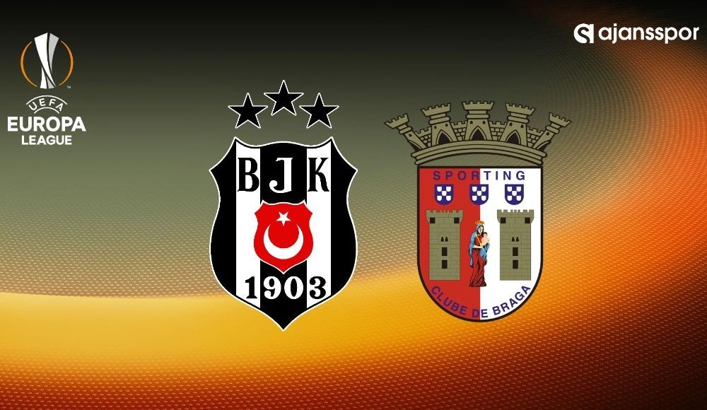 UEFA Avrupa Ligi Beşiktaş Braga maçı şifresiz veren kanallar canlı izle