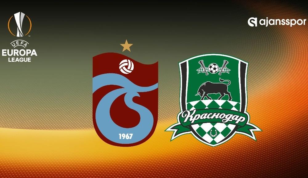 UEFA Avrupa Ligi Trabzonspor Krasnodar maçı şifresiz veren kanallar canlı izle