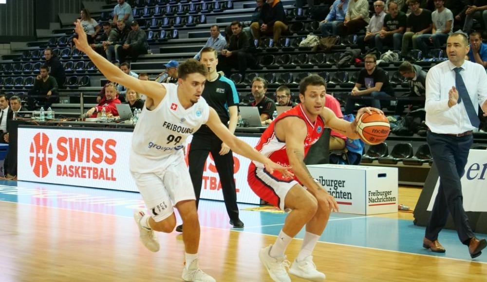 Bahçeşehir Koleji, Fribourg Olympic takımını 76-60 yendi