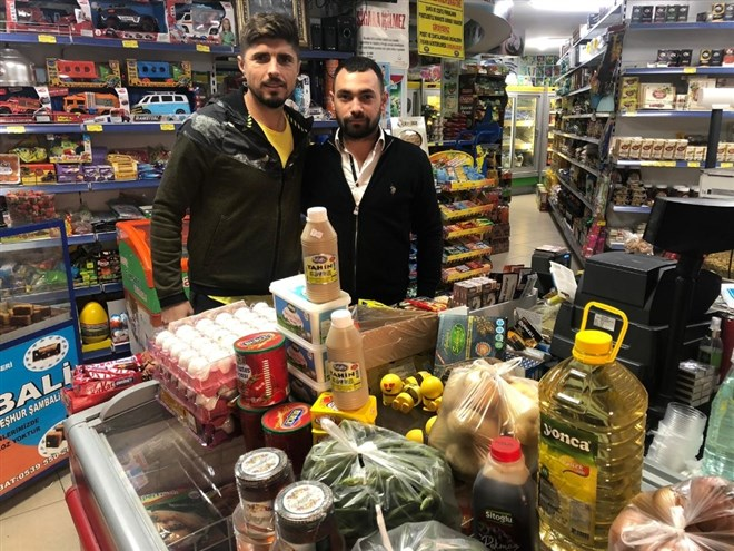 Manisaspor'a market desteği