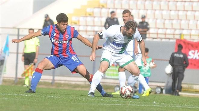 Niğde Anadolu FK, sahasında Sakaryaspor'a 2-1 mağlup oldu