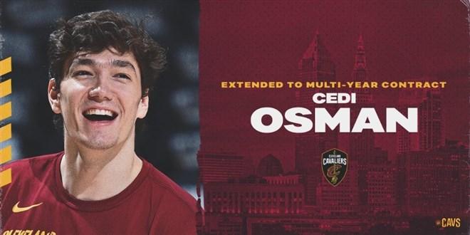 Cedi Osman, Cleveland ile sözleşme uzattı