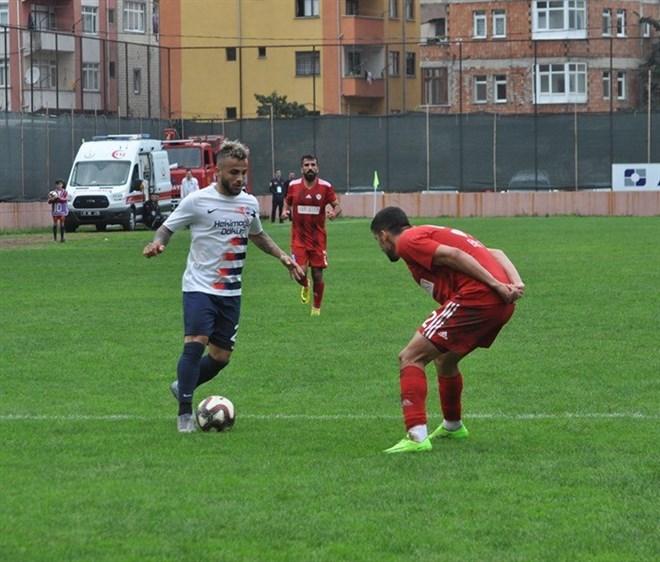 Hekimoğlu Trabzon FK sahasında Yeni Çorumspor'u 2-1 mağlup etti