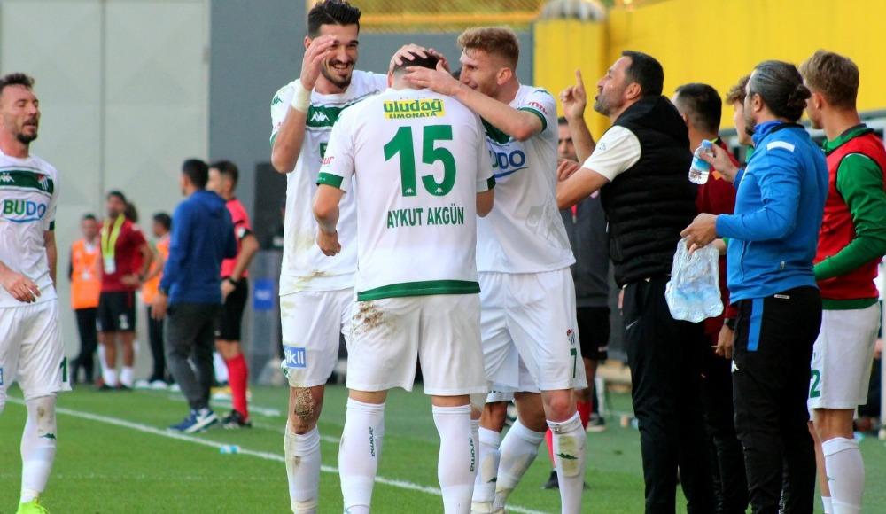 Bursaspor deplasmanda kazandı!