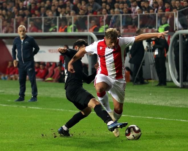 Samsunspor ile Sancaktepe FK golsüz berabere kaldı