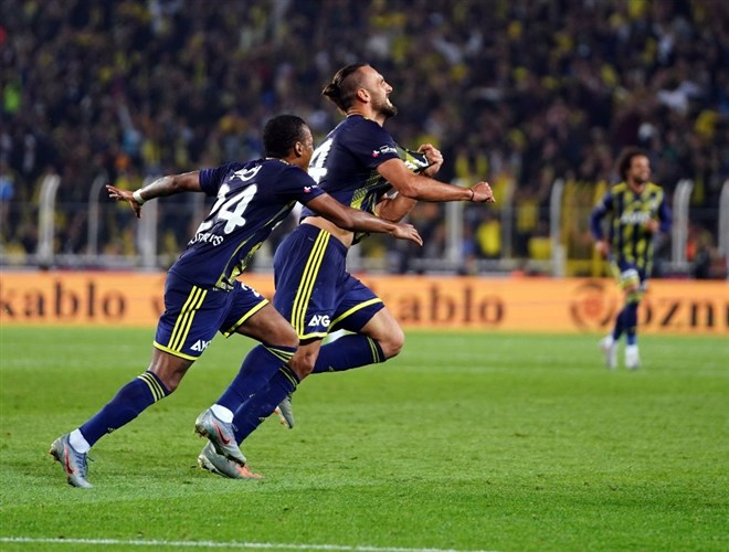 Fenerbahçe'nin Vedat Muriqi uğuru!