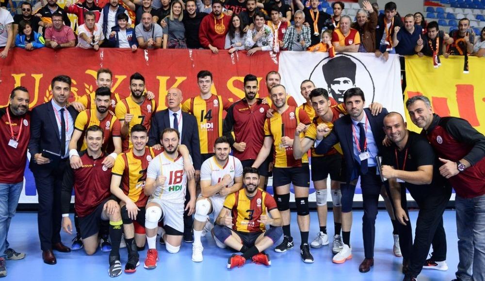 Galatasaray HDI Sigorta, İnegöl Belediyespor'u 3-0 yendi