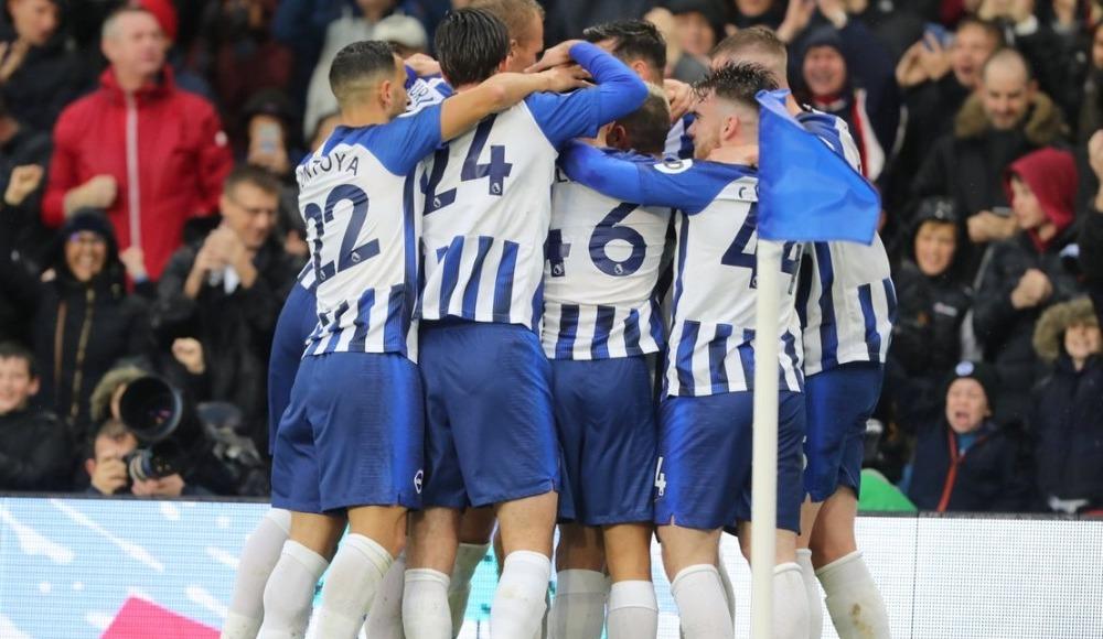 Brighton son dakika golüyle kazandı