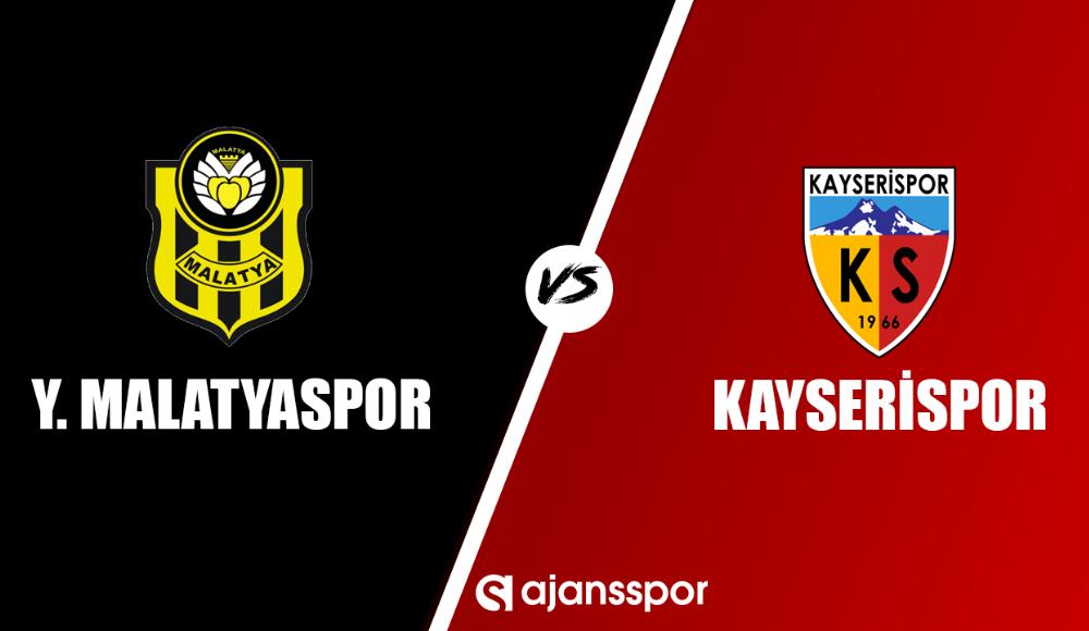 Yeni Malatyaspor - Kayserispor (Canlı Skor)