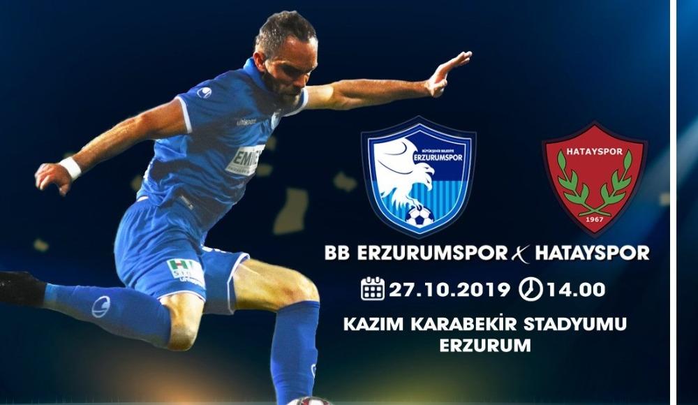 BB Erzurumspor - Hatayspor (Canlı Skor)