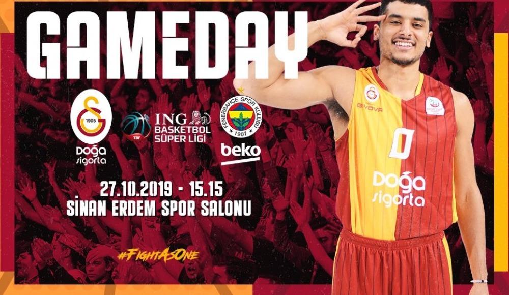Galatasaray Doğa Sigorta - Fenerbahçe Beko (Canlı Skor)