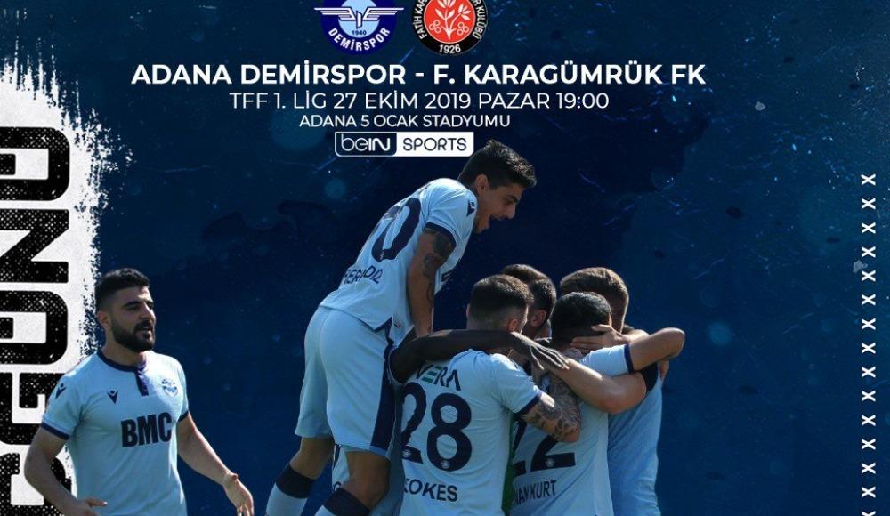Adana Demirspor - Fatih Karagümrük (Canlı Skor)