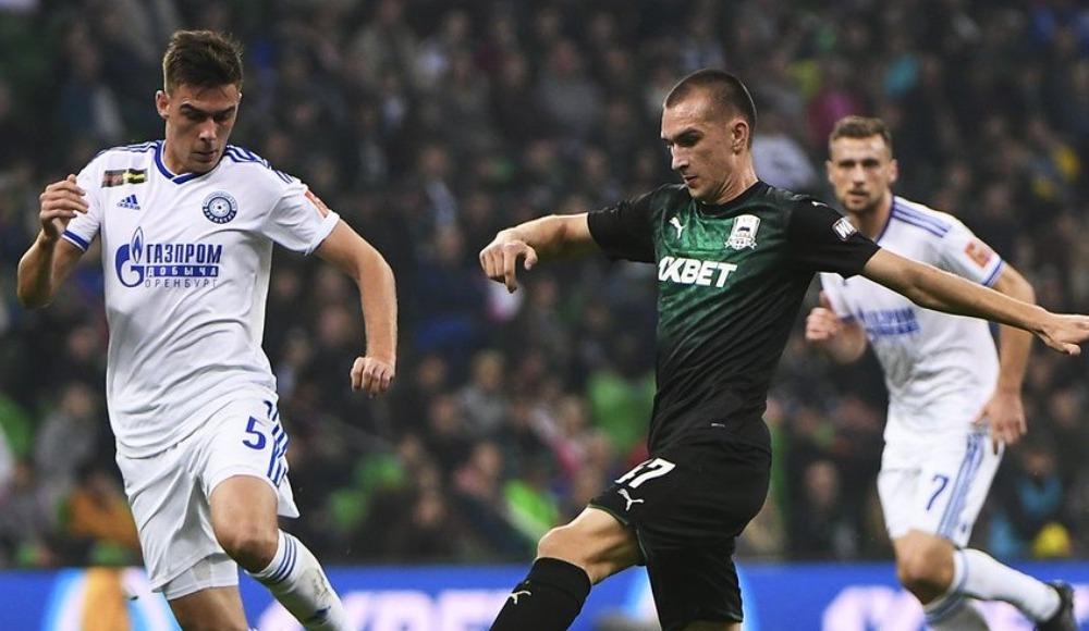 Krasnodar, sahasında FK Orenburg ile yenişemedi! 1-1