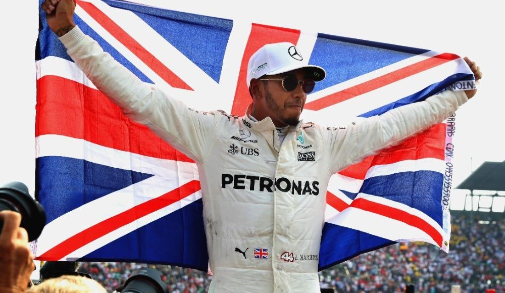Meksika GP'sinde kazanan Hamilton