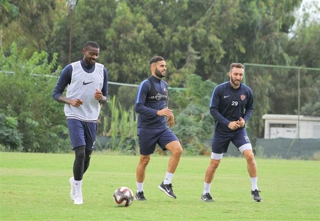Hatayspor, Altay maçı hazırlıklarına başladı