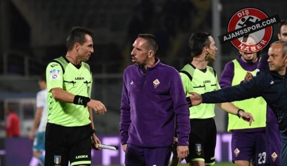 Franck Ribery'ye şok! 3 maç...