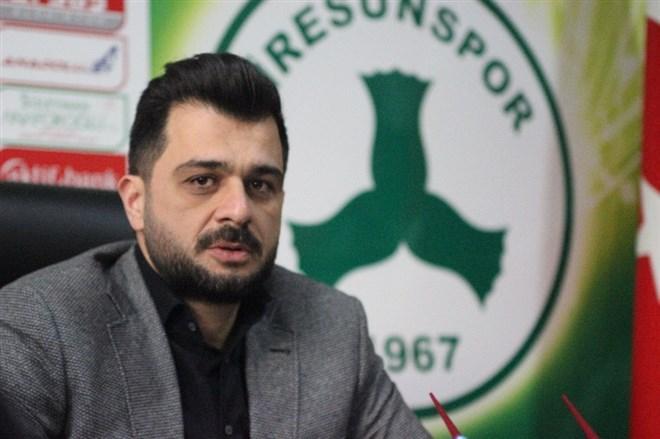 """Başkan Sacit Ali Eren: """"İyi bir çıkış yaparsak hedefe varırız"""""""