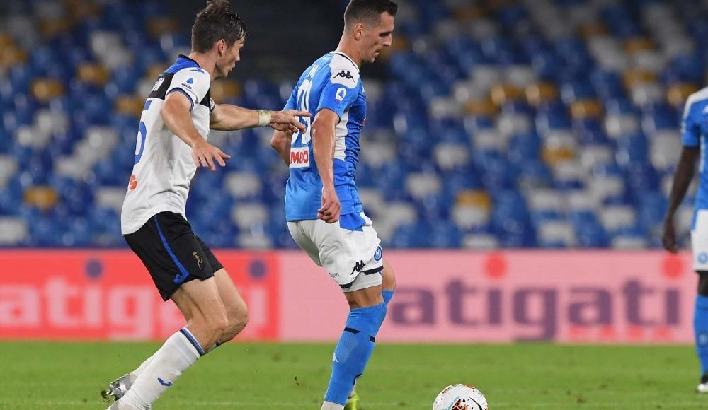 4 gollü maçta kazanan çıkmadı! Napoli 2 - 2 Atalanta