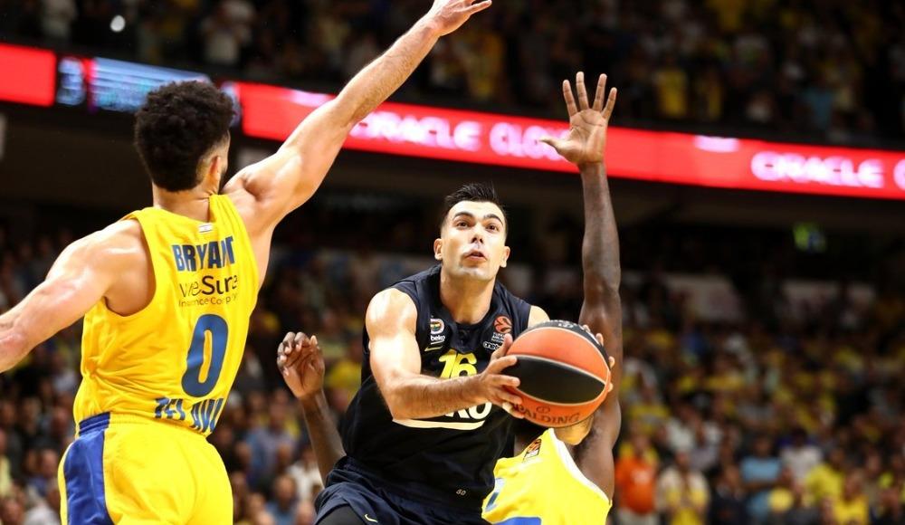 Fenerbahçe Beko, Maccabi'ye deplasmanda mağlup oldu