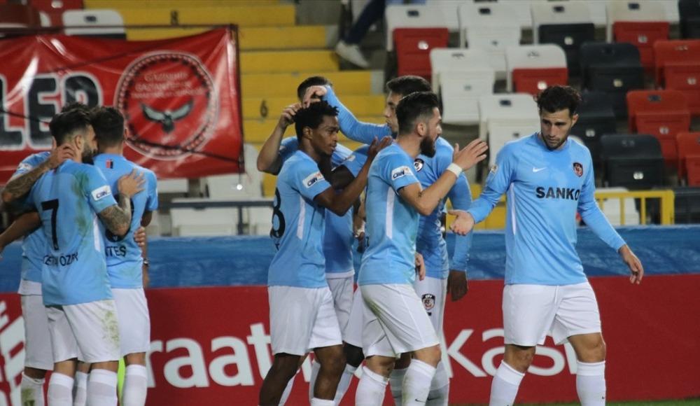 Gaziantep FK, Ziraat Türkiye Kupası'nda tur yükseldi!