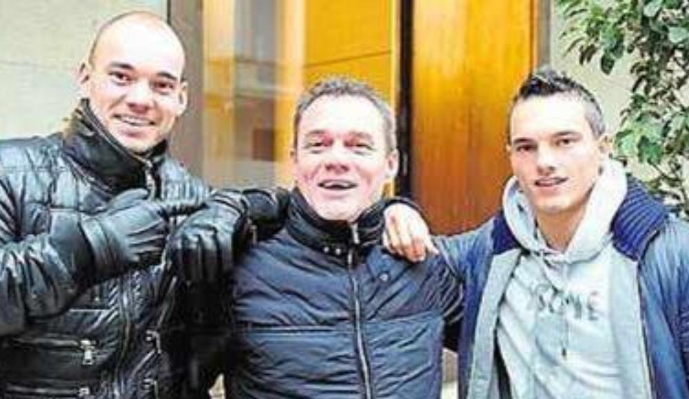 Wesley Sneijder'in babası, kanser hastalığına yakalandı