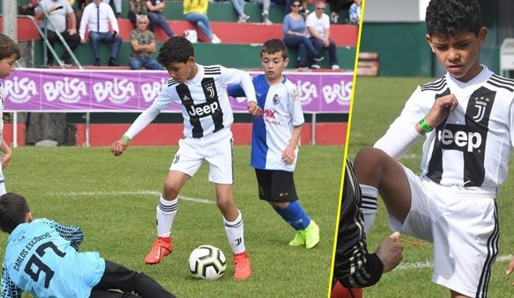 Ronaldo Jr babasının izinde!