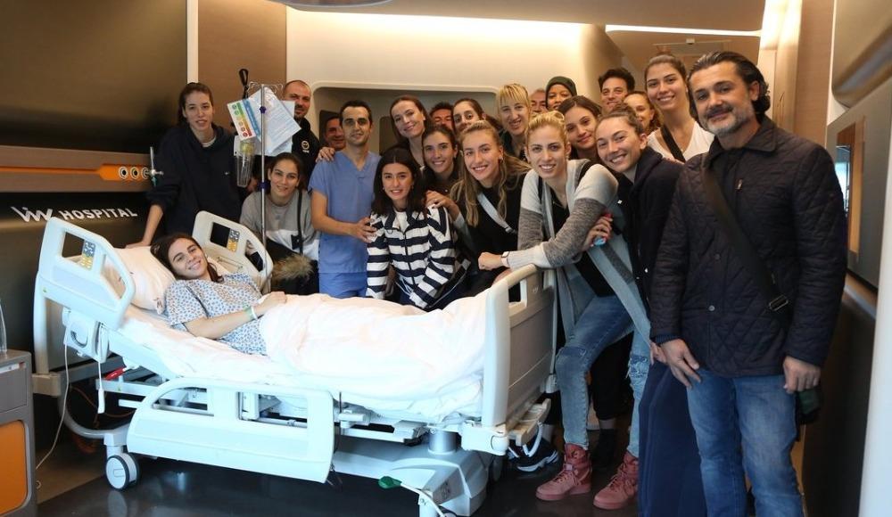 Fenerbahçe Opet'te Damla Çakıroğlu ameliyat edildi