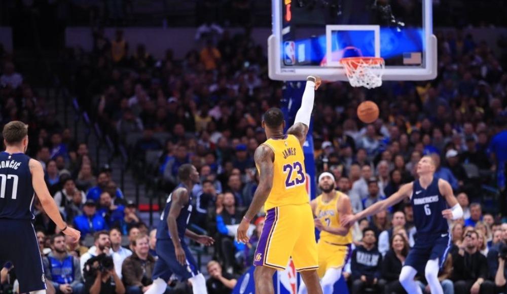 NBA'de Lakers çıkışa geçti!