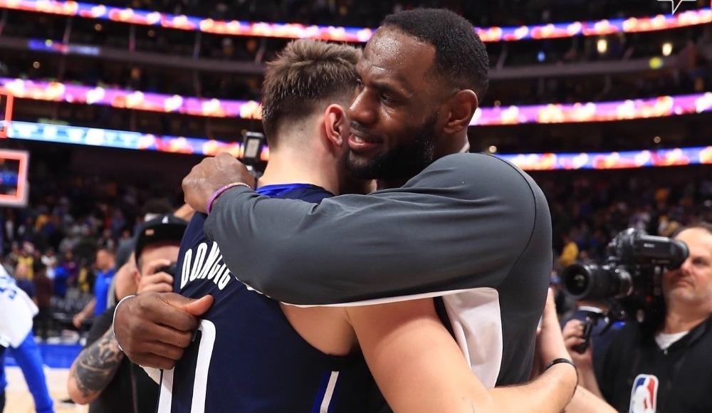 NBA'de benzersiz rekor! LeBron ve Doncic...