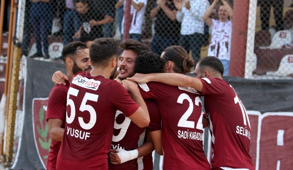 5 gollü mücadelede kazanan Hatayspor!