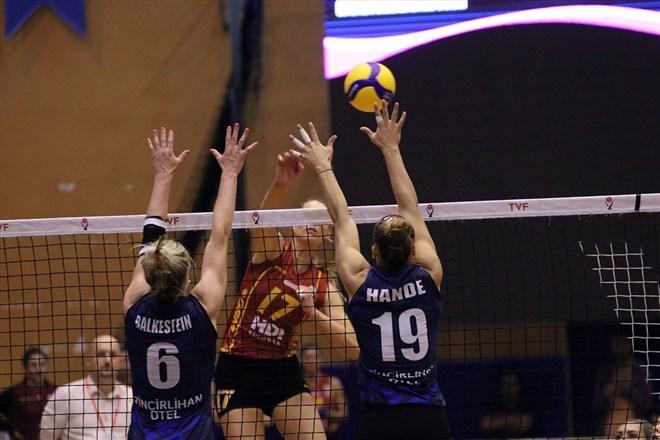 Galatasaray HDI Sigorta, Aydın Büyükşehir Belediyespor'u yendi