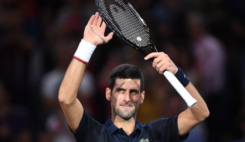 Novak Djokovic, Paris Masters Tenis Turnuvası'nda finale yükseldi