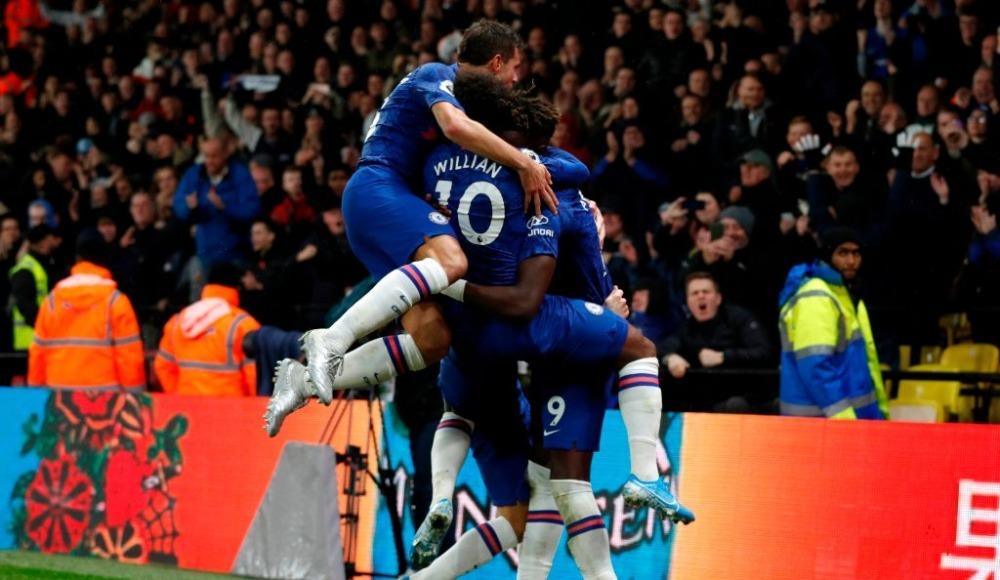 Chelsea deplasmanda kazandı: 1-2!