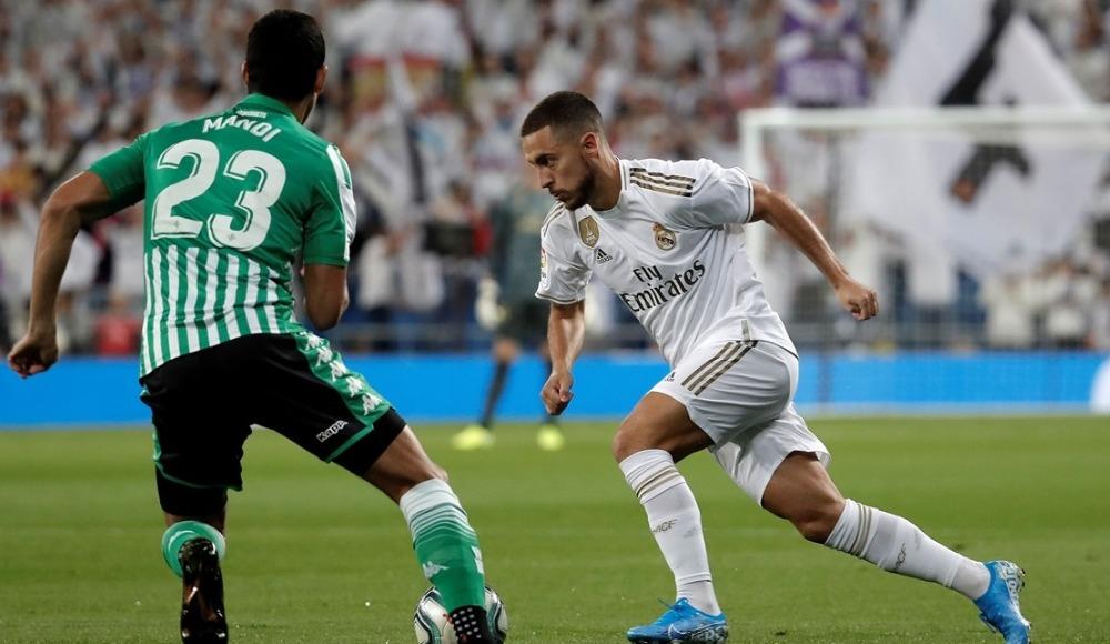 Real Madrid - Real Betis maçından gol sesi çıkmadı!