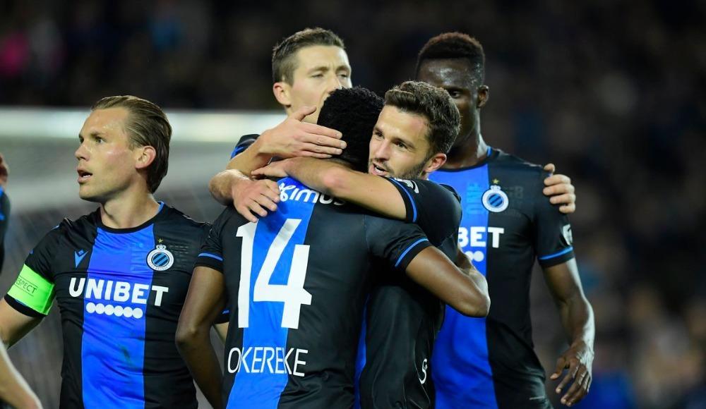 Club Brugge kazanmaya devam ediyor!