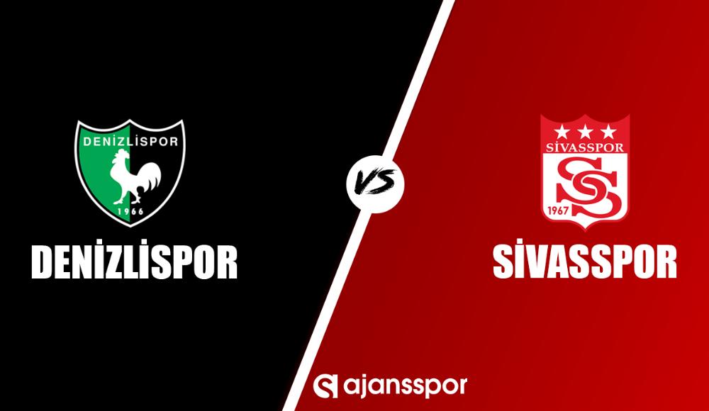 Denizlispor - Sivasspor (Canlı Skor)