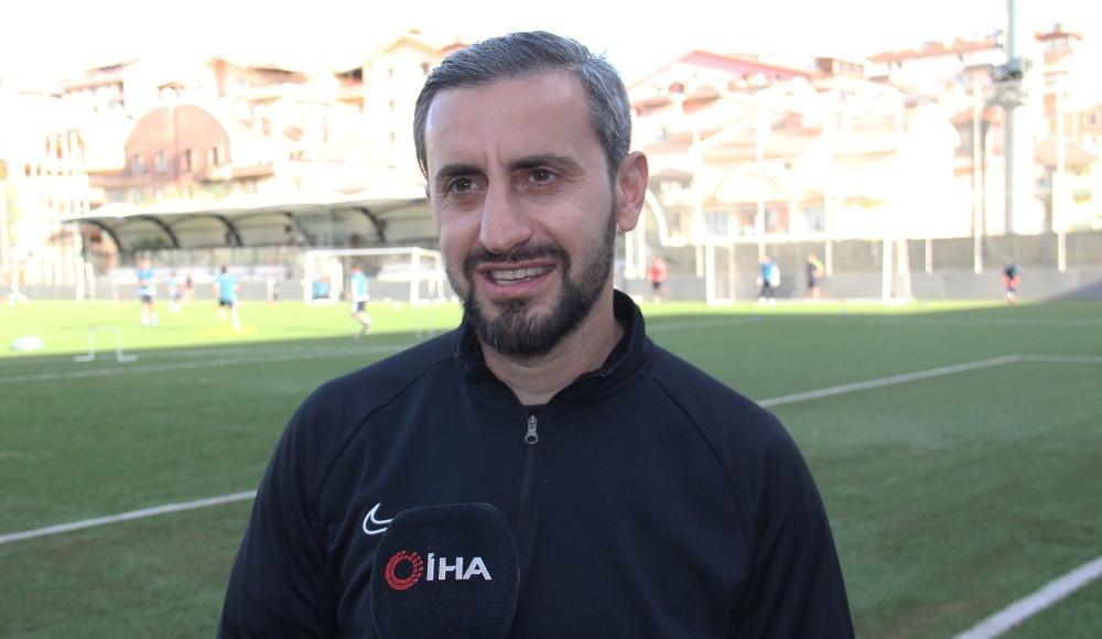 """Serkan Özbalta: """"Kazanmak istediğimiz bir maçtı"""""""