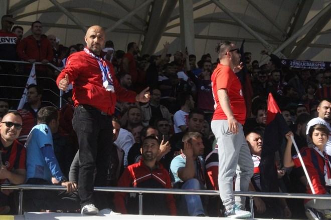 10 bin taraftar Zonguldak Kömürspor'a destek verdi