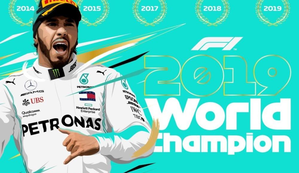 Lewis Hamilton üst üste 3. kez dünya şampiyonu!