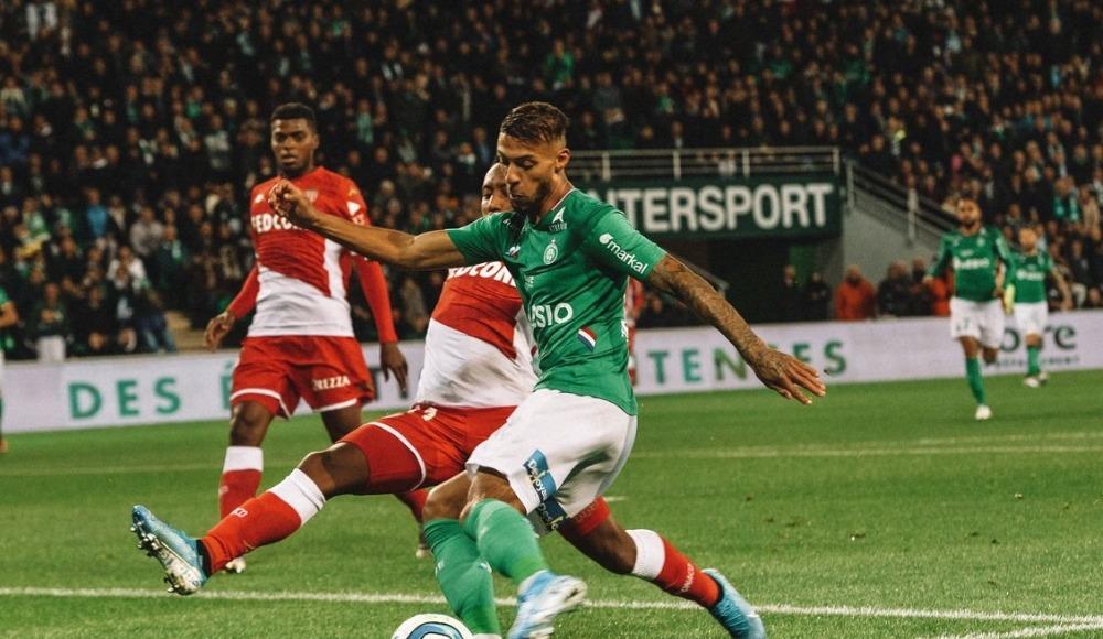 Saint-Etienne, sahasında Monaco'yu 1-0 ile geçti!