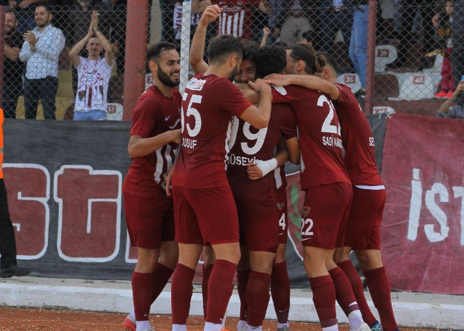 TFF 1. Lig'de Hatayspor, liderliğini sürdürdü
