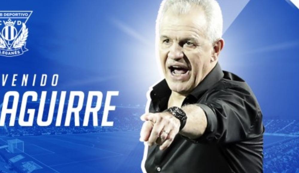 Leganes'in yeni teknik direktörü Javier Aguirre oldu