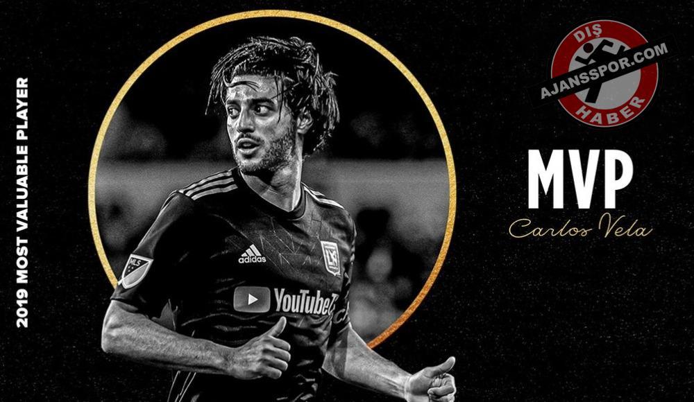 Carlos Vela, MLS'te yılın en iyi oyuncusu seçildi